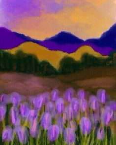 Landscape with heather flowers. #practicepracticepractice It's difficult for me to paint flowers in the forefront. I found this nice photograph of a Utah landscape, and I wanted to try. #doodle #iphonesketch.  19/100 #the100dayproject & #cbone100doodles #cboneart #painting #drawing #sketch #abstractart  #watercolor tool #illustration #adstract #modernart  #artist #artwork #artoftheday #skylovers #instagram #flowers #art #sunset or #sunrise #sky #skyporn #mountains #sun #colorful #hills…