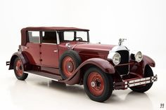 1928 Packard 443 Murphy Convertible Sedan |