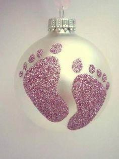 Newborn christmas craft ideas