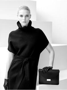Vestidos negro cuello alto – clutch y accesorios - Otoño invierno - AD MUJER…