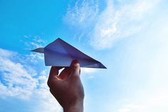 One of our favorite games as children was to fly airplanes. It gave us immense pleasure and joy to build our own paper plans and compete with the squad.