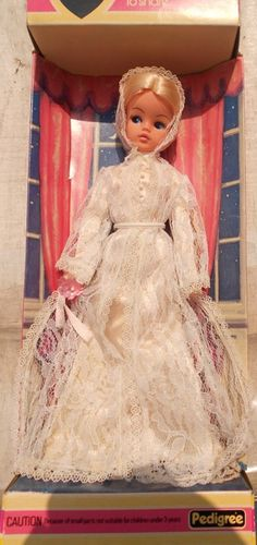 1979 Sindy - Our Sindy Museum Sindy Doll, Dolls Dolls, Barbie, Bride Dolls, Candy Stripes, Fashion Dolls, Childhood Memories, Evening Gowns, Lace Trim