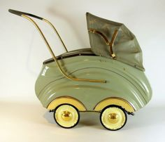 Prams, Baby Carriage, Antique Toys, Alter, Baby Strollers, Dolls, Vintage, Retro, Antiques