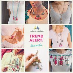 Shop My Chloe + Isabel Boutique! www.chloeandisabel.com/boutique/kristinluttrell #trend #tassels #chloeandisabel