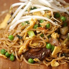 Better Than Takeout: Vegetable Pad Thai | Shine Food - Yahoo She Philippines