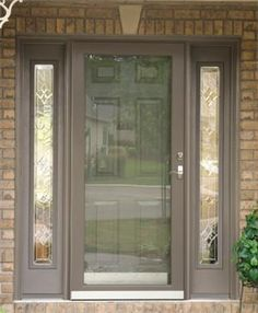 Storm doors come in all colors!