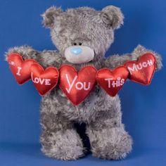 Nawww, I want this teddy bear soooooo BADLY!! <3