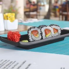 We always are in the mood for sushi. Get your favorite roll at Café del Mar 🍣😋 💎 The Sian Ka'an at Sens Cancún Oasis, Paradise On Earth, Sushi, Mood, Dining, Ethnic Recipes, Gourmet, Adults Only, Del Mar