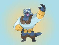 CHIMOWY - The Composite Pokemon - (DARK / POISON) SKILL: Aftermath HIDDEN: Limber PRETTICORE --> level 25 --> CHIMOWY --> level 40 --> ???????? Chimowy, the chimera pokemon, found ...