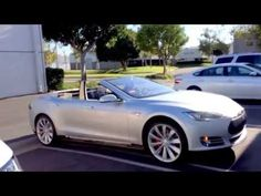 First Tesla Model S Convertible Built By Newport Engineering (Video)