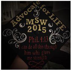 Graduation cap design.