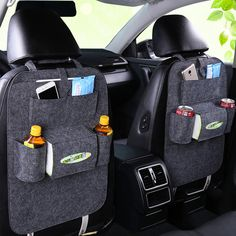 Auto Replacement Parts: Cheap Price Auto Car Backseat Organizer Car-Styling Holder Felt Covers Versatile Multi-Pocket Seat Wool Felt Storage Container Hanging Box Car Storage Box, Seat Storage, Backseat Car Organizer, Shelf Bins, Storage Shelves, Leather Car Seats, Organize Fabric, Back Bag, Organiser Box