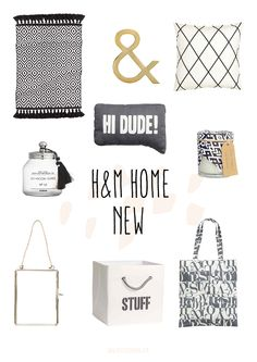 New in H&M Home Spring 2016
