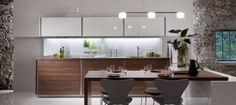 Warendorf - New Kitchen Brand from Miele and Philippe Starck New Kitchen Designs, Modern Kitchen Design, Interior Design Kitchen, Kitchen Dining, Kitchen Decor, Nice Kitchen, Grand Kitchen, Dining Room, Kitchen Wood