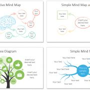 mind map powerpoint template | template and creative mind map, Powerpoint templates