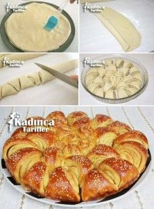Butter Bread Recipe Recipe, How To - Womanly Recipes - Buttered Bulgarian Bread Recipe - Bulgarian Bread Recipe, Bulgarian Recipes, Turkish Recipes, Butter Bread Recipe, Bread Recipes, Cooking Recipes, Pain Pizza, Beer Bread, Recipe Sites