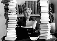 Top 10 Golden Age Detective Novels: Agatha Christie, pictured at her home. Miss Marple, Agatha Christie, E Book, Writing A Book, Reading Books, Beatles, Detective, Clarissa, Lucrezia Borgia