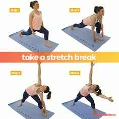 Need a stretch? Try this quick and easy move to feel good right now!
