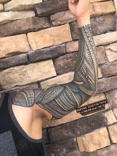 Polynesian Forearm Tattoo, Maori Tattoos, Maori Tattoo Meanings, Tribal Forearm Tattoos, Polynesian Tattoos Women, Polynesian Tattoo Designs, Tribal Tattoos For Men, Tribal Sleeve Tattoos, Tribal Tattoo Designs