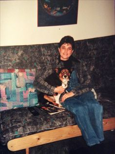 This is me & my rescue dog Jordi.I rescued him one day before his near execution from the Calgary S.P.C.A!He was my runner!I had him for 19 years!He literally saved my life 3 times!Both Jordi & I stood to a man attempting to murder myself & my parter!I had nothing but him, a pair of scissors & my 911 dispatcher!All the police & K-9 units showed up as soon as possible!My Law Enforcement partner hid!That was 1 Scary night!