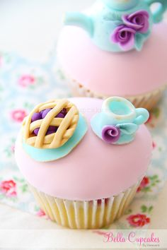 #cupcakes #kitchen_tea #baby_shower #tea_party #spring
