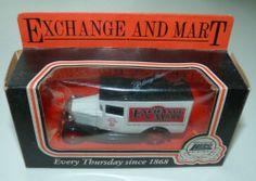 Lledo Days Gone van: Exchange & Mart (1)