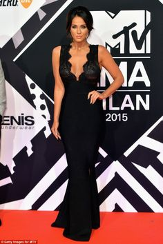 Showing him what he's missing? Vicky Pattison, who has just broken up with Stephen Bear, proved revenge is a dish best served hot as she stormed the red carpet at the 2015 MTV Europe Music Awards in Milan