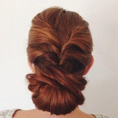This particular version of a classic updo hairstyle is designed to make sure your hair stays intact, especially when you are getting down on the dance floor. Get the full tutorial from The Beauty Department. You can find more-secure prom updos like this one here.