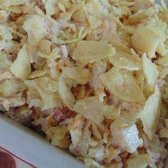 Michelle's Hot Chicken Salad Photos - Allrecipes.com #MyAllrecipes #AllrecipesAllstars #AllrecipesFaceless