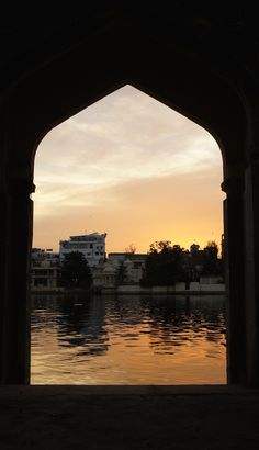 Sunset through the halls Louvre, In This Moment, Sunset, Building, Travel, Sunsets, Viajes, Buildings, Traveling