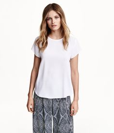 Crepe Blouse| H&M US