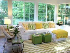 Decor: Como usar verde limão na decoração.
