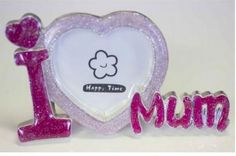 Buy I Love Mum Photo Frame at Just $25.00. #MothersDay2015 #MothersDay