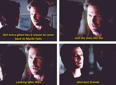 Dalaric!! Damon and Alaric! The Vampire Diaries TVD