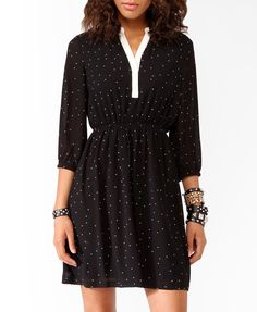 Polka Dot Daytime Dress | FOREVER21 - 2021840958