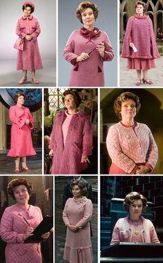Potter frenchy party - DIY costume - Dolorès Ombrage - Umbridge costume - Harry Potter