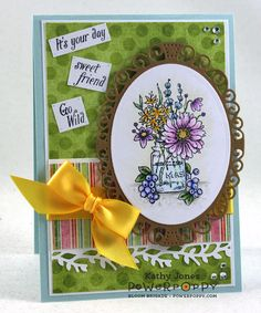 Inspired to Stamp: Go Wild Marcy!