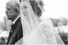 Beautiful shot of the walk down the aisle I Catherine Ann Photography I #weddingphoto #weddingphotography #fatherdaughter