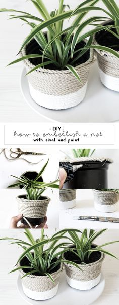 DIY - Plastiktopf-Upcycling.
