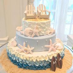 リゾートウェディング・夏がテーマのウェディングケーキまとめ | marry[マリー]
