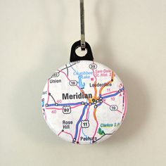 Meridian Mississippi Zipper Pull by XOHandworks Meridian Mississippi, Fitness Brand, Wealth Management, Zipper Pulls, Christmas Bulbs, Product Launch, Trending Outfits, Unique Jewelry, Handmade Gifts