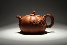 Yixing Pumpkin teapot