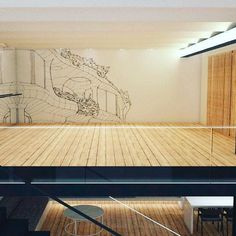 Casa para una tatuadora - Sala de baile #arquitettura #arquitectura #architecture #design #interior #vray #render
