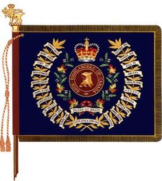 The Royal Canadian Regiment Royal Canadian Navy, Canadian Army, British Army, Flag Of Europe, Military Units, Military Flags, Bengal Lancer, Afghanistan War, Highlanders