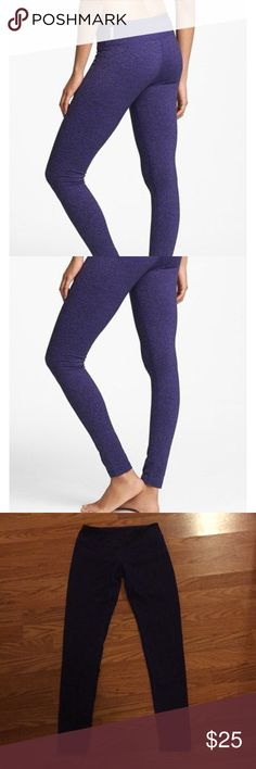 Zella Purple Heathered Leggings perfect condition! Heathered purple color, exactly like the picture from the model. The pictures of the leggings on the floor look a bit darker due to lighting. Zella Other