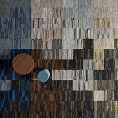 Legent est une série de dalles de moquette de la collection Reform par ege. Sa texture e, relief, bouclée est inspirée de l'écorce des arbres.