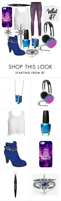 """Don't live by 'what if?'"" by goldenlaurel ❤ liked on Polyvore featuring Camouflage Couture, Celebrate Shop, Sans Souci, OPI, Two Lips, Casetify, Maybelline, White House Black Market and Federica Tosi"