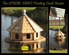 Duck house oh my goodness i need to live near a lake now so i epsom eight floating duck house solutioingenieria Choice Image