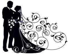 силуэты на свадьбу: 22 тыс изображений найдено в Яндекс.Картинках