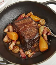 Eric Chavot presents another French classic in this daube de boeuf recipe.